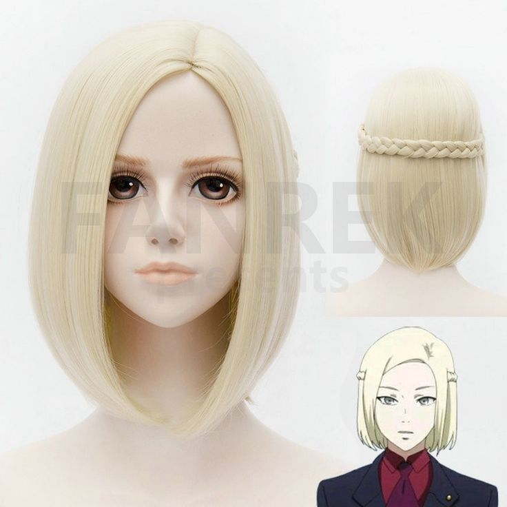 Tokyo Ghoul Cosplay Real Household Halloween Wigs White Hair