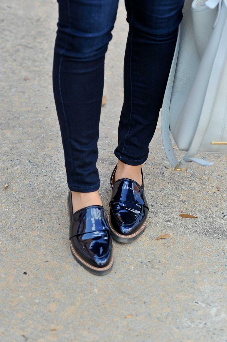 Nordstrom Halogen Loafers, casual tomboy chic outfit ideas - My Style Vita @mystylevita