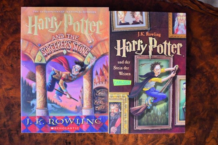 English German Harry Potter And The Sorceror S Stone Foreign Language Classroom Foreign Language Teaching Language