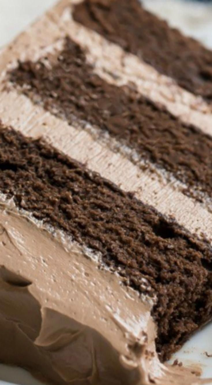Simply Perfect Chocolate Cake ~ Einfaches Rezept für eine Schüssel, feucht und zum Schmelzen …   – Chocolate cake recipe