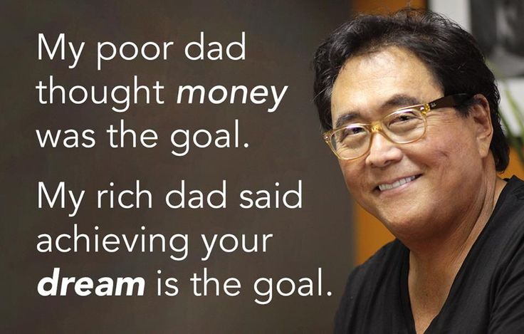 "Robert Kiyosaki talks about his book "" Rich Dad Poor Dad "" in the video…"