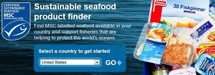 Want to know your fish is from a sustainable fishery? Check out the Marine Stewardship Council product finder tool at http://www.msc.org/... #fishfinders