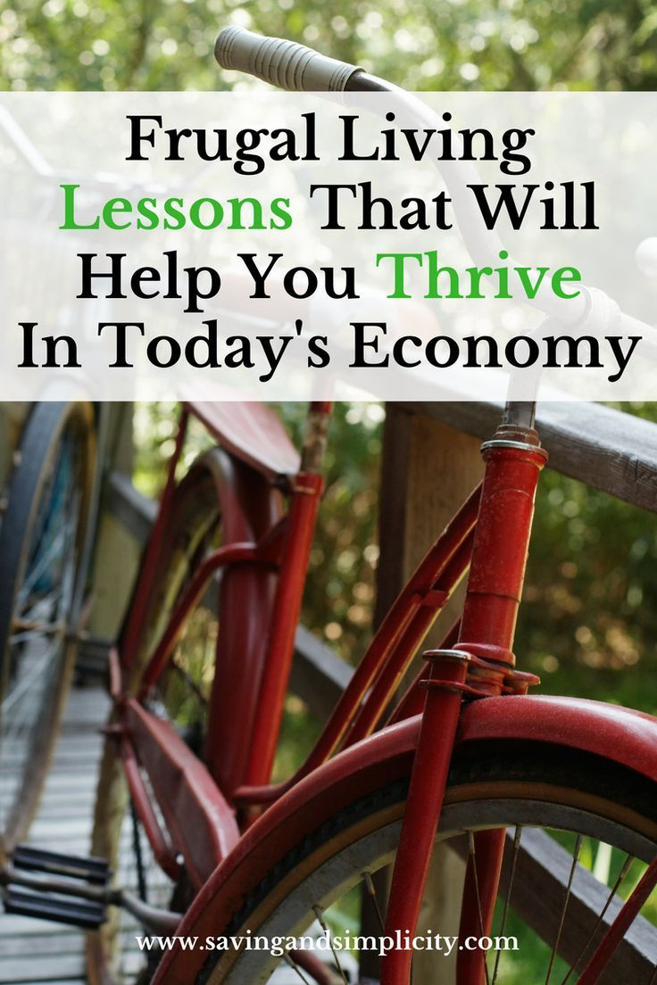 50 Frugal living lessons that will help you save money today.