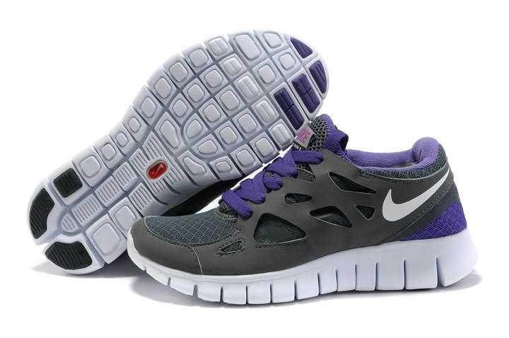 supra pas chere - Vendre Acheter Nike Free Run 2 Homme Gris Violet   Nike Free Run ...