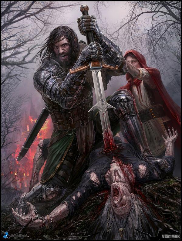 Vlad Marica Fantasy Illustration