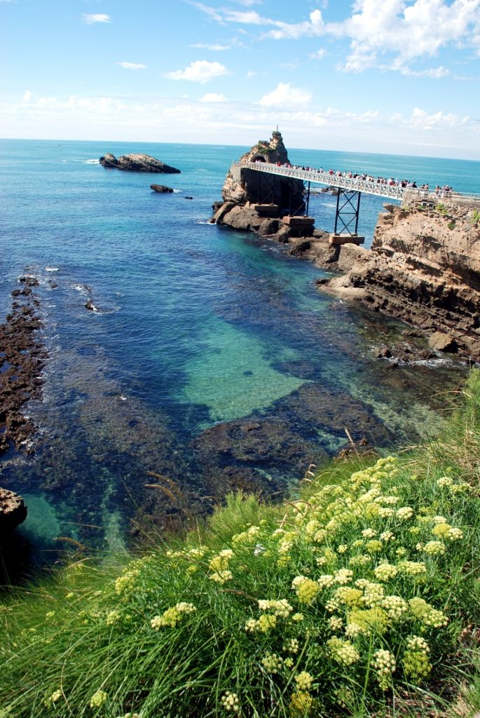 Biarritz : Le Rocher de la Vierge