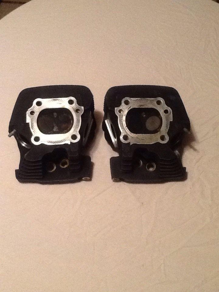 HD Twin cam heads #16725-99, 16723-99 Harley Davidson Original Oem #HarleyDavidson