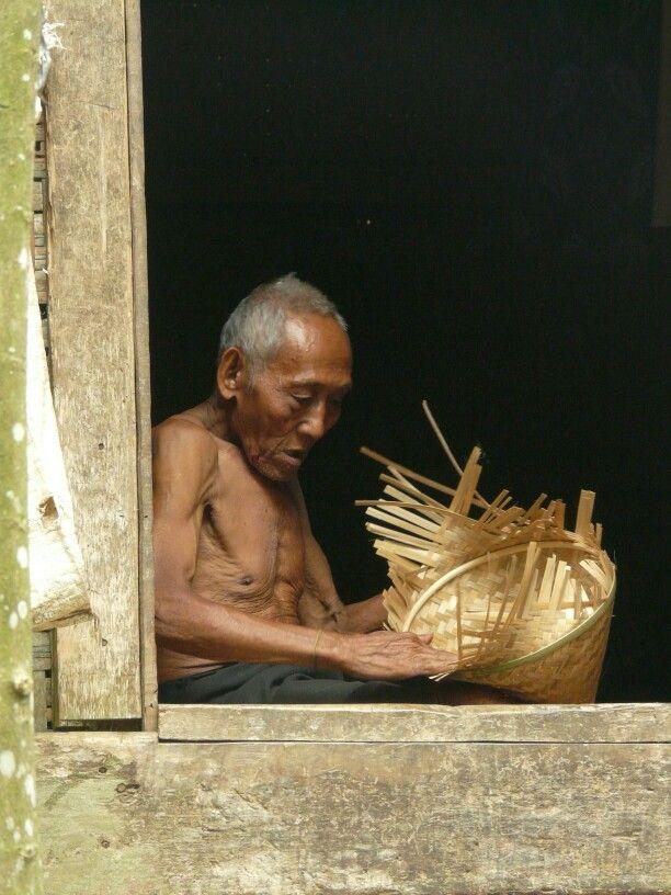 A Baduy elder