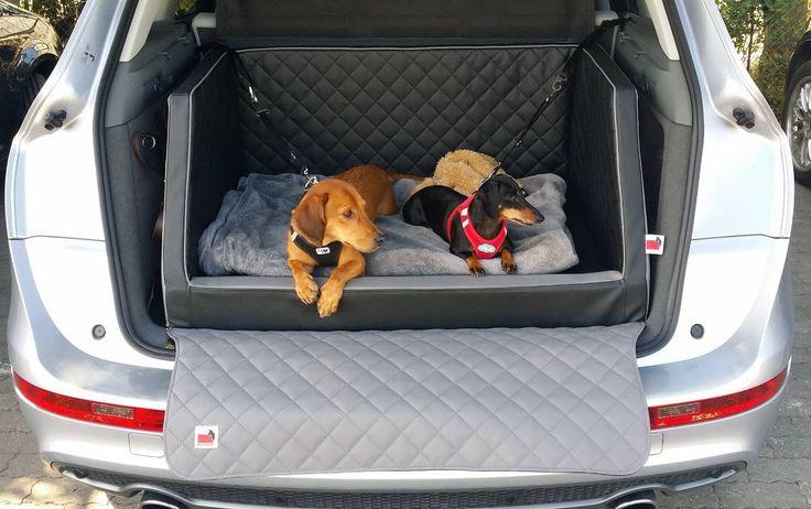 Hundebetten für den Kofferraum Automatte Bett Reisebett Autobett Autohundebett Hundebetten Qualitätsvoll schön und gemütlich Shopping fashion dog style #hundeurlaub