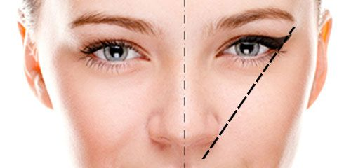eyeliner for round eyes - Google Search                                                                                                                                                                                 More
