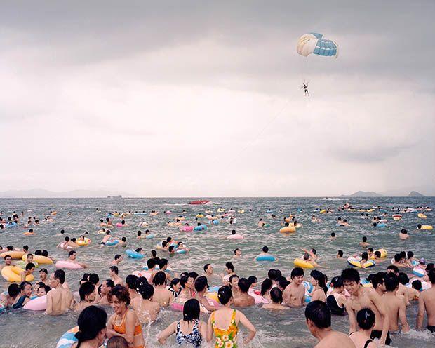 Surreal Photographs of Life Along China's Coastline Zhangxiao
