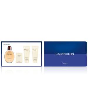 CALVIN KLEIN MEN'S 4-PC. OBSESSION FOR MEN GIFT SET. #calvinklein #