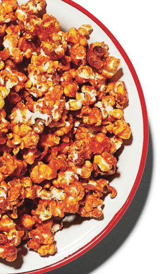 Buffalo wing… popcorn. Yeah, you want this.