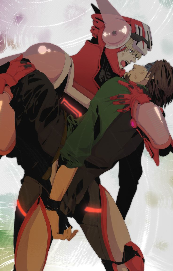 Tiger  Bunny ~~ Sometimes you cause even greater pain when you sacrifice yourself for someone else. :: Barnaby and Kotetsu
