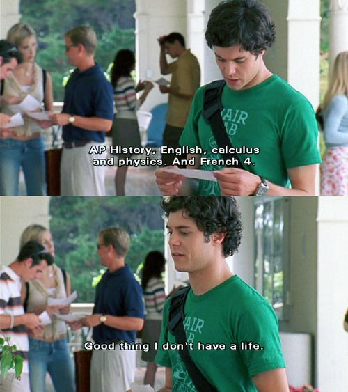 """Good thing I don't have a life."" Seth Cohen <3 the oc. Season 1, #8: The Rescue."