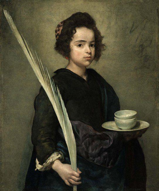 Diego Velázquez (1599-1660), 'Saint Rufina' Oil on canvas