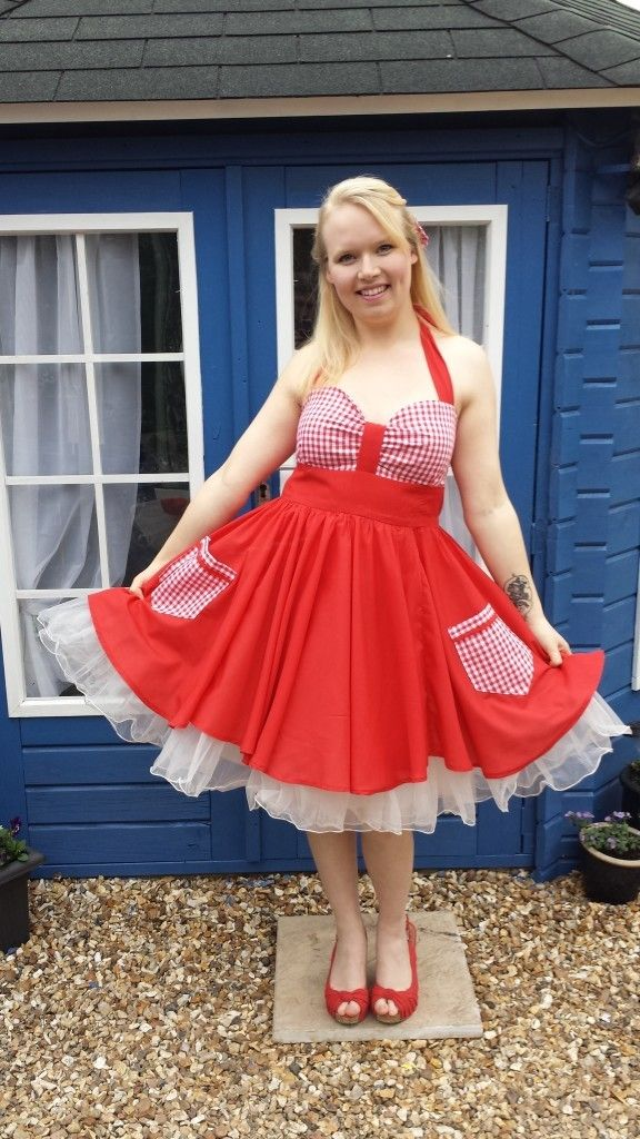 The Notebook-Inspired Vintage Dress