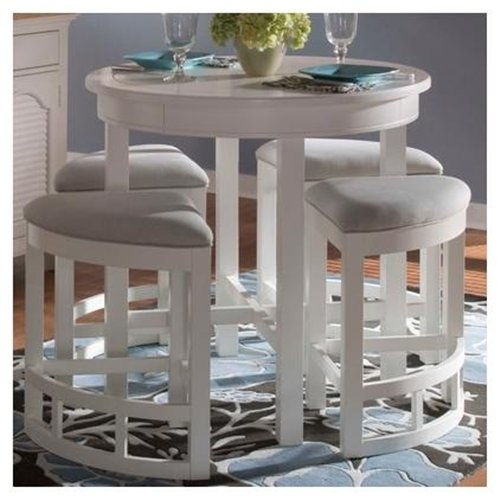 807 43 Mirren Harbor Round Counter Pub Table Set Pub