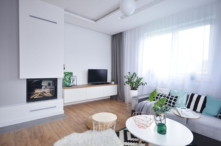 Stylowe mieszkanie w stylu skandynawskim | proj. Olivkadesign