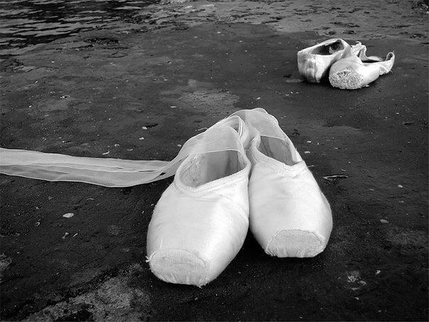 Как делать обувь для балета