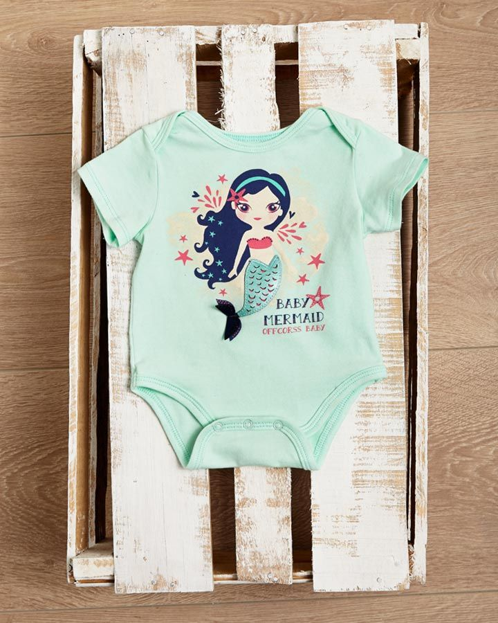 Body for cutie baby girl #mermaid #FashionKids #OFFCORSS >> http://www.offcorss.com/newborn
