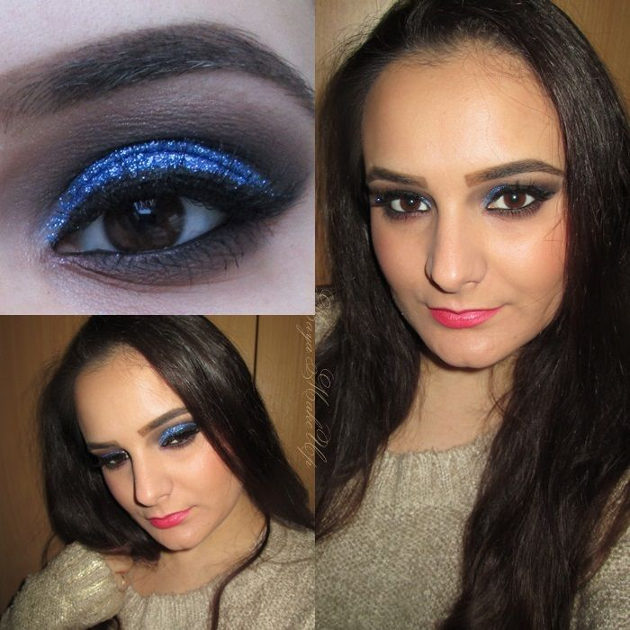 Requested Fall Make-up Tutorial #4: Starry Night Blue