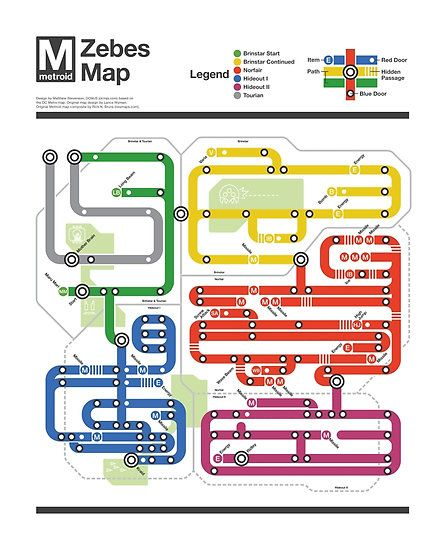 Metroid Metro - NES Maps Series by dcmjs. I think I am in LOVE with this series of classic NES maps done in the style of different metros across the world. You can get posters of 6 great games
