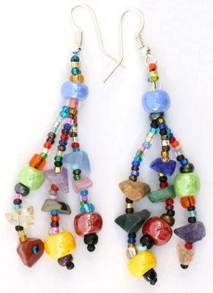 Guatemalan Beaded Earrings | Fair Trade