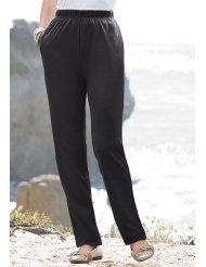 Roamans Plus Size Tall Classic Soft Knit Pants