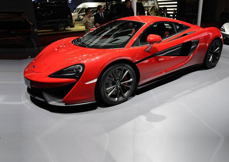 The new McLaren 540C makes its debut at the 2015 Shanghai motor show. Will cost £126,000, arrives early 2016. This may be an entry-level model, but it'll see 0-62mph in 3.5 seconds, 0-124mph in 10.5 seconds