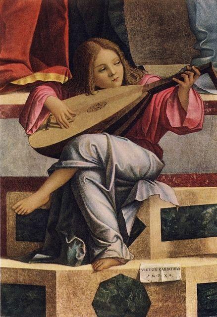 VITTORE CARPACCIO - Presentazione al Tempio (dettaglio) 1510 #TuscanyAgriturismoGiratola