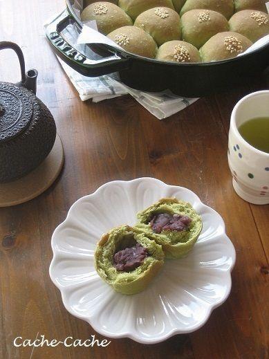 staubブレイザーで 抹茶のちぎりあんパン♪ by カシュカシュさん ...