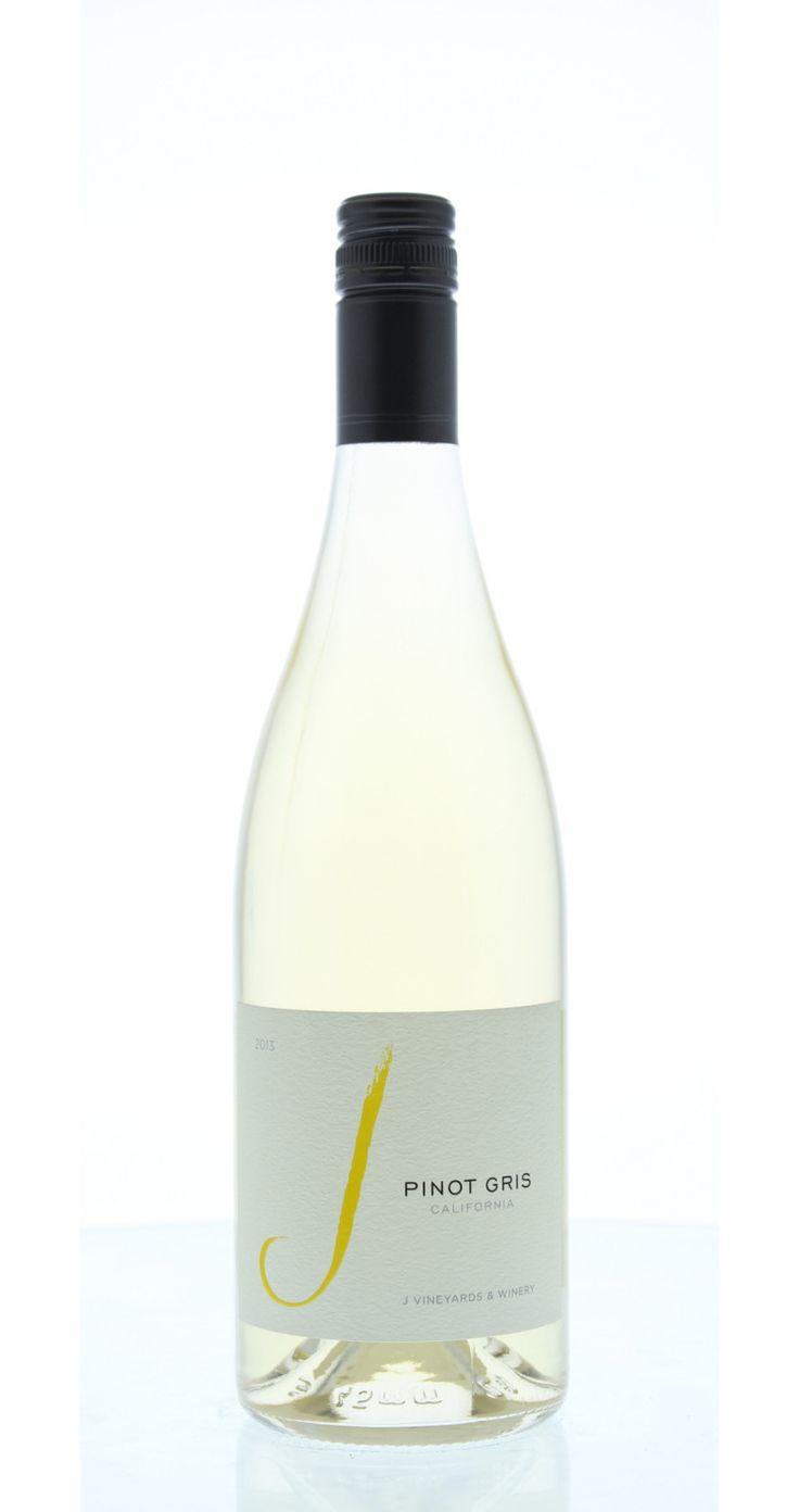 J Vineyards & Winery California Pinot Gris 2013