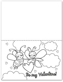 Valentines Day Pictures To Color