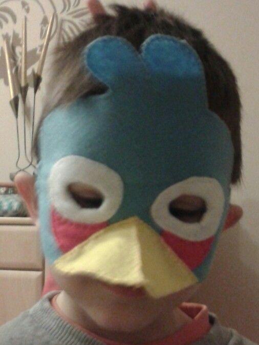 Maska karnawałowa z filcu