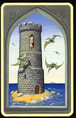 Significado Carta Tarot LENORMAND - La Torre                                                                                                                                                                                 Más