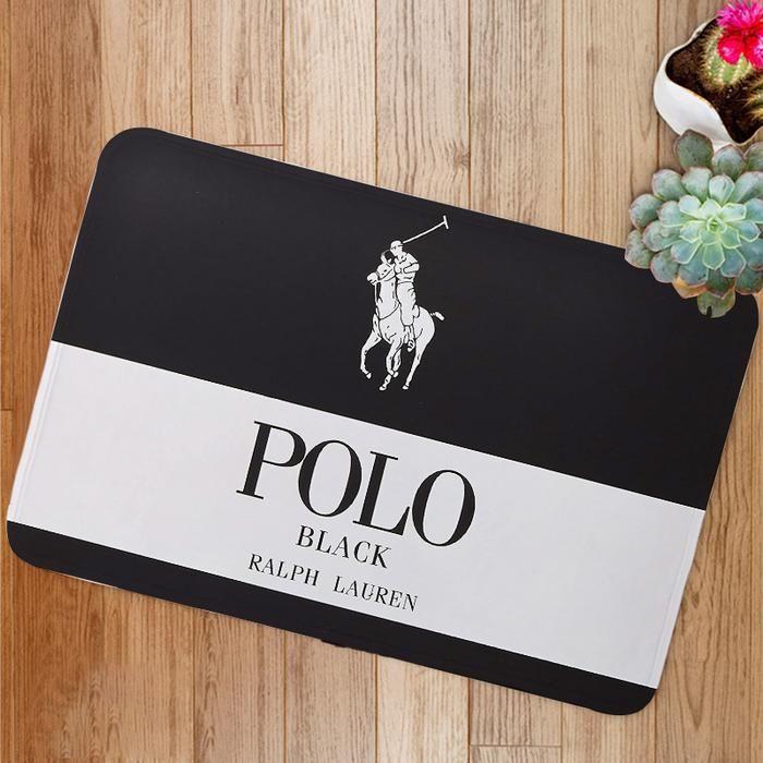 Ralph Lauren Polo Logo Custom Floor Mat Duvet Bedding Sets Bed Linen Inspiration Matching Bedding And Curtains