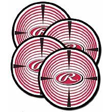 Rawlings - Paquet de 4 cibles hockey de rue