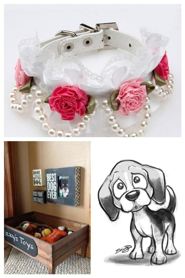 Fancy Dog Collar Dogclothes Animal Collar Dog Fancy