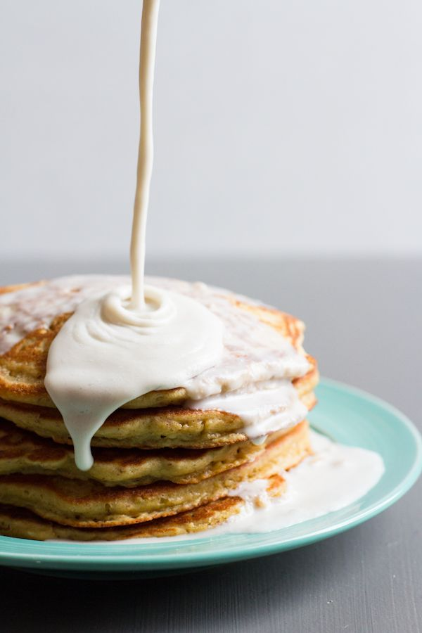 Coconut tres leches pancakes (gluten-free, dairy free)