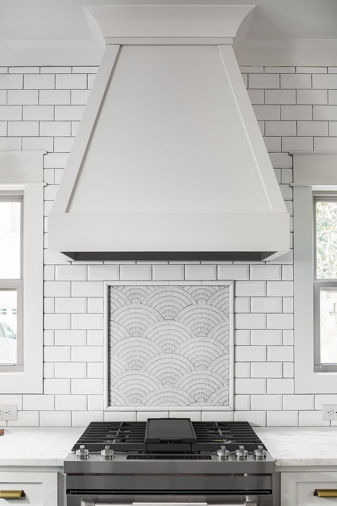 Matte Subway Tile Kitchen Backsplash Is A 3x6 Matte White Subway
