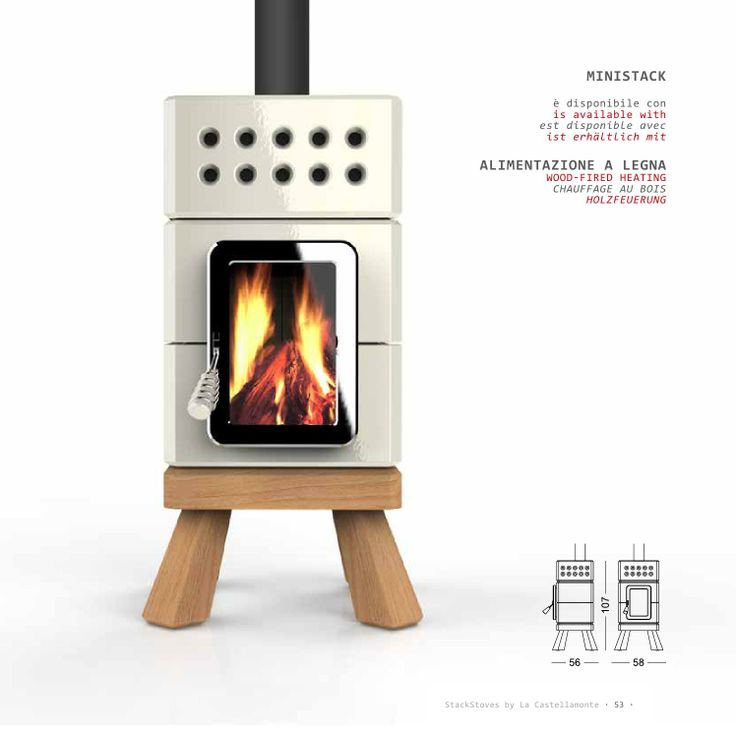 stack ceramic stoves collection by la castellamonte and. Black Bedroom Furniture Sets. Home Design Ideas