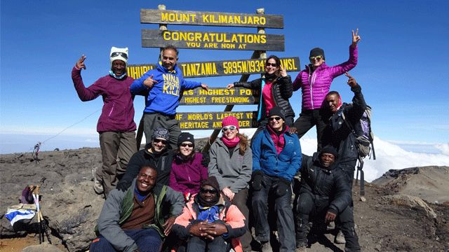 Climb Kilimanjaro with #TrekkingBug and our intrepid director Roland Monsegu! an unmissable adventure, departing February 2017  http://trekkingbug.com/climb-kilimanjaro-trekking-bug  #trekking #adventuretravel #travelinspiration #Tanzania #climbKilimanjaro #Kilimanjaro #tripofalifetime