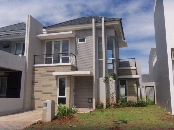 rumah minimalis 2 lantai type 36 modern