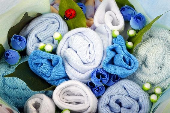 Starlight Blue Regular Baby Bouquet