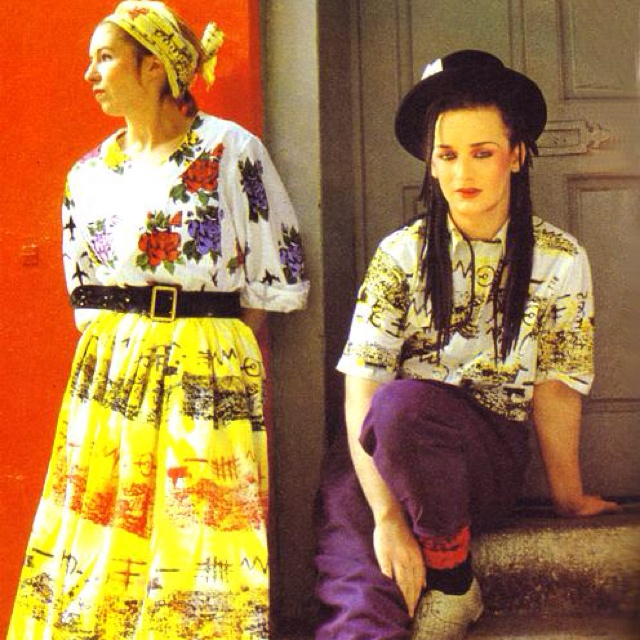 Sue Clowes & Boy George