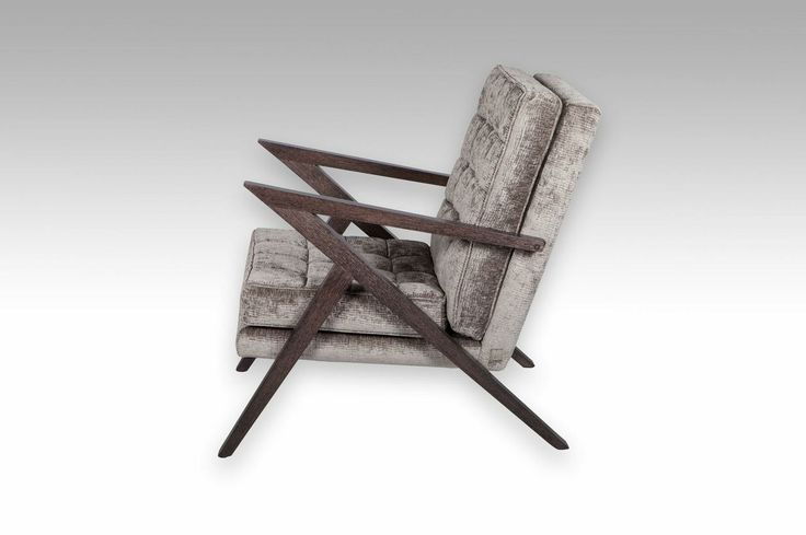 Oslow Armchair. Available with 12 different stains for the frame and different fabrics or leather for the upholstery which varies the price.