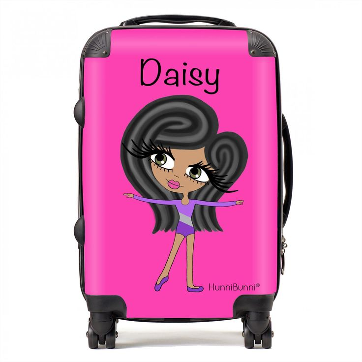 HunniBunni Little Miss Hot Pink Personalised Suitcase