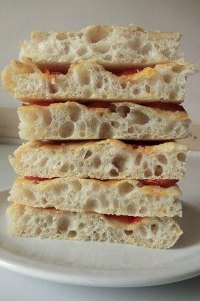 Pan di Pane: Ricetta Impasto semplice per focaccia o pizza (impasto in ciotola).