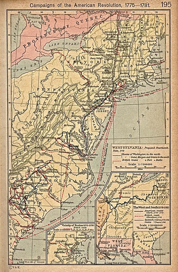 Best History Maps Images On Pinterest American History - Map of us 1781